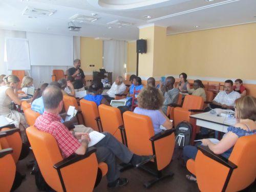 Réunion préparatoire de la société civile, la veille du COFI (Rome, 6 juillet 2012)