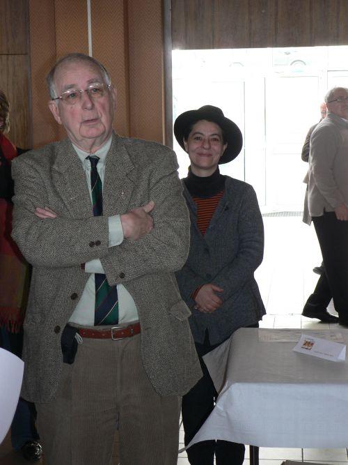 Michel LOUDE (Président) & Clémentine LAFON (Secrétaire de l'U.E.R.A.)