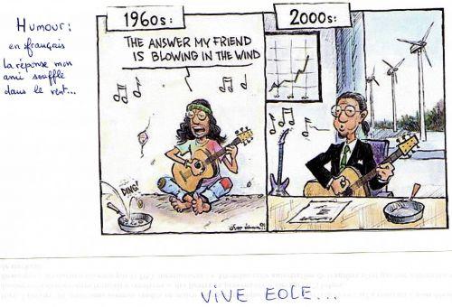EOLE... EOLE...VIVE LE VENT...