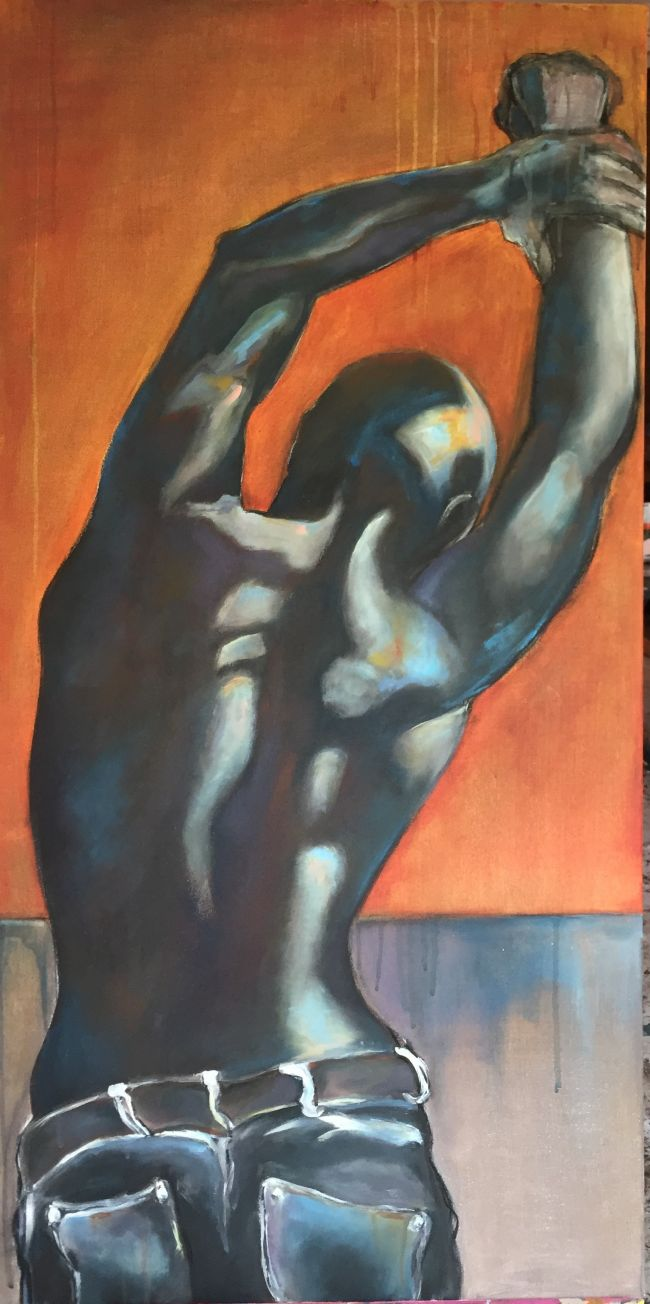 CHAINED  60 X 120 cm