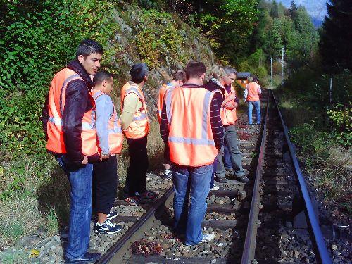 Incident 3ème rail Vaudagne