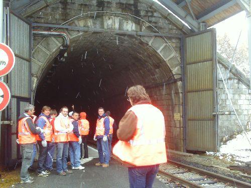 Les portes du ... tunnel des Montets