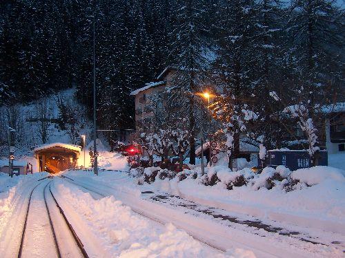 2009.12.23 Montroc, le tunnel pendant l'alternat