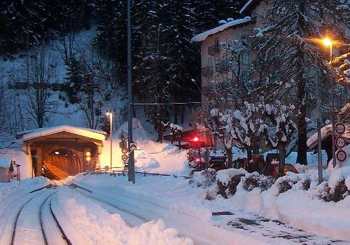 2009.12.23 Montroc, le tunnel pendant l'alternat 2