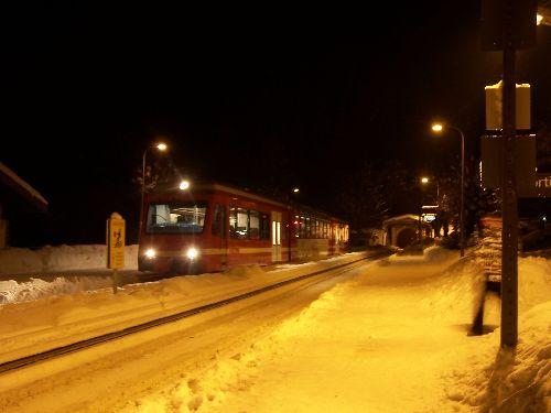2009.12.31 Ambiance nocturne de réveillon à Montroc