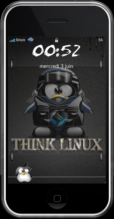 THINKLINUX LockScreen