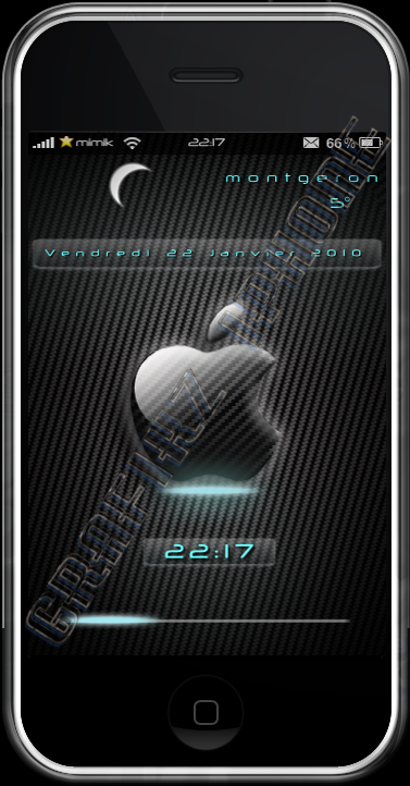 iApple_Carbon_LockScreen