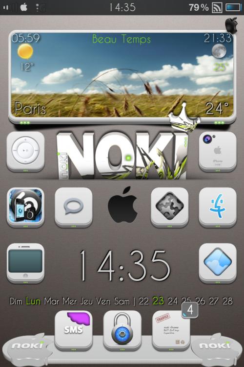 Layer n°2 pour widget b&w NOKI
