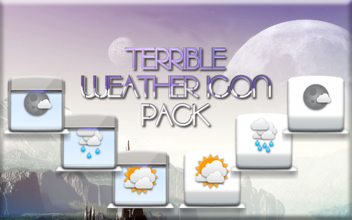 TERRIBLE Icon Pack EXTRA