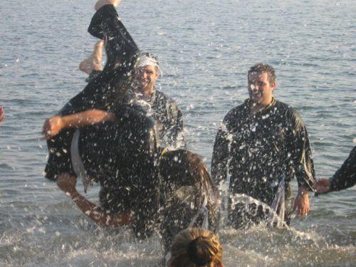 entrainement plage 2008