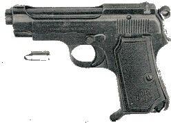 Pistola automatica Beretta mod.34 et 35