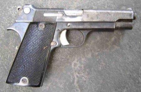 Les  Pistolet automatique de 7,65 mm modèle 35S