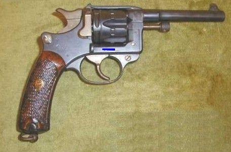 Le revolver de 8 mm modèle 1892