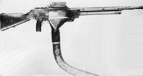 Le fusil mitrailleur de 7,5 mm  modèle 1924 M29 (D)