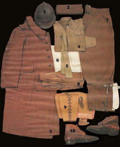 uniforme français