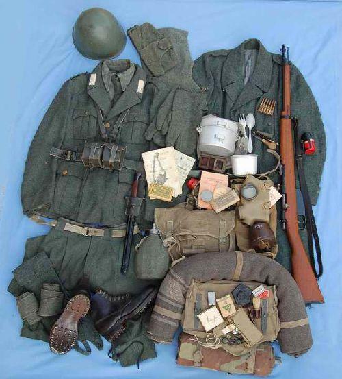 uniforme regio esercito