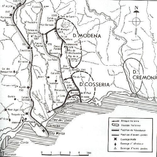 divisions  italiennes