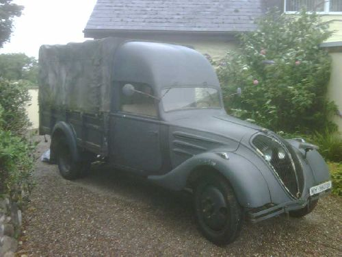 Camion PEUGEOT DK5 J 1939
