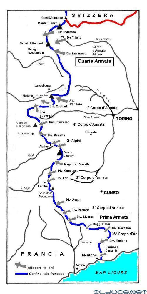 front alpin juin 1940