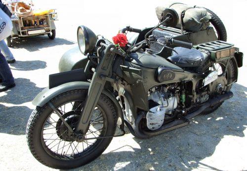 Gnome & Rhone Side car AX2 de 1939 - 800cc