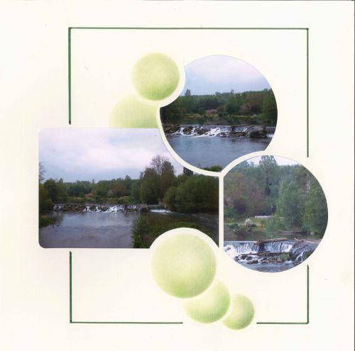 Poitiers : décor à la craie