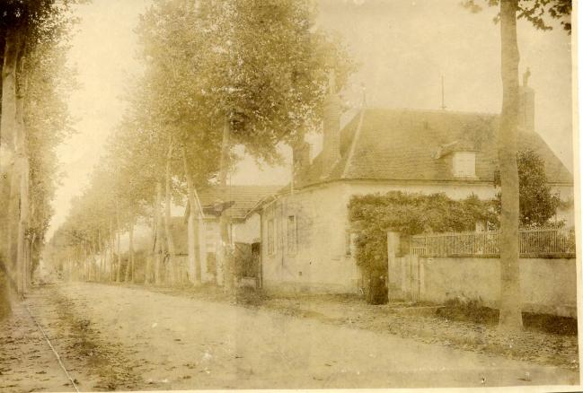 Avenue Colbert en 1913