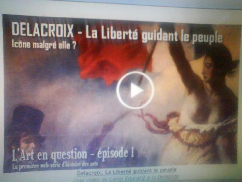 Mystère autour du tableau de Delacroix....