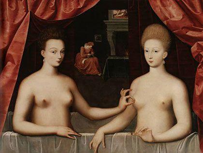 Peinture, Lécole de Fontainebleau..