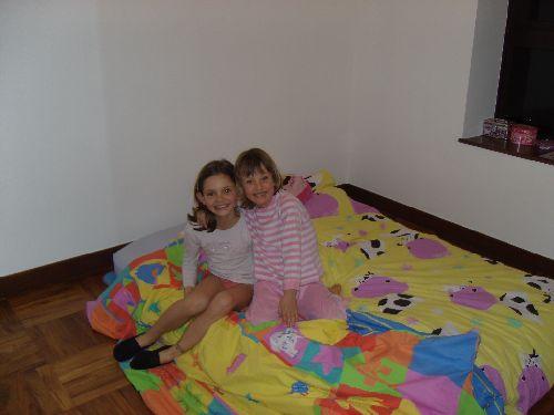 Le lit provisoire, un matelas gonflable!