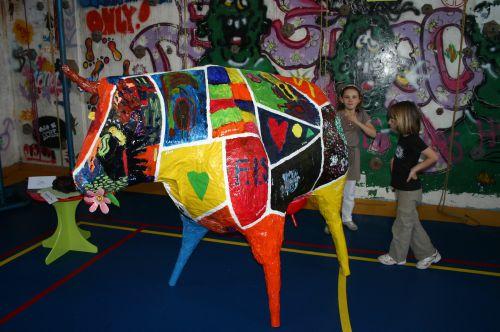 Vache de la classe de Candice