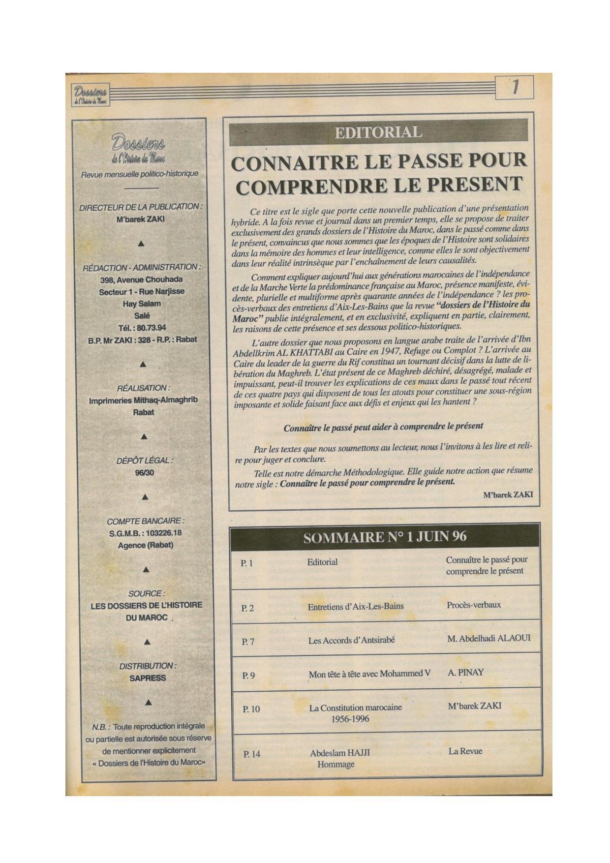 Dossiers de l histoire du Maroc n°01 Juin 1996-page-002.jpg