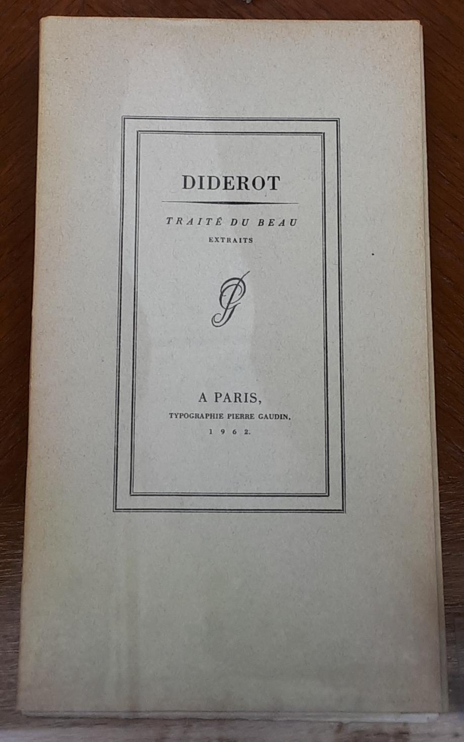 Diderot. Traité du beau.jpg