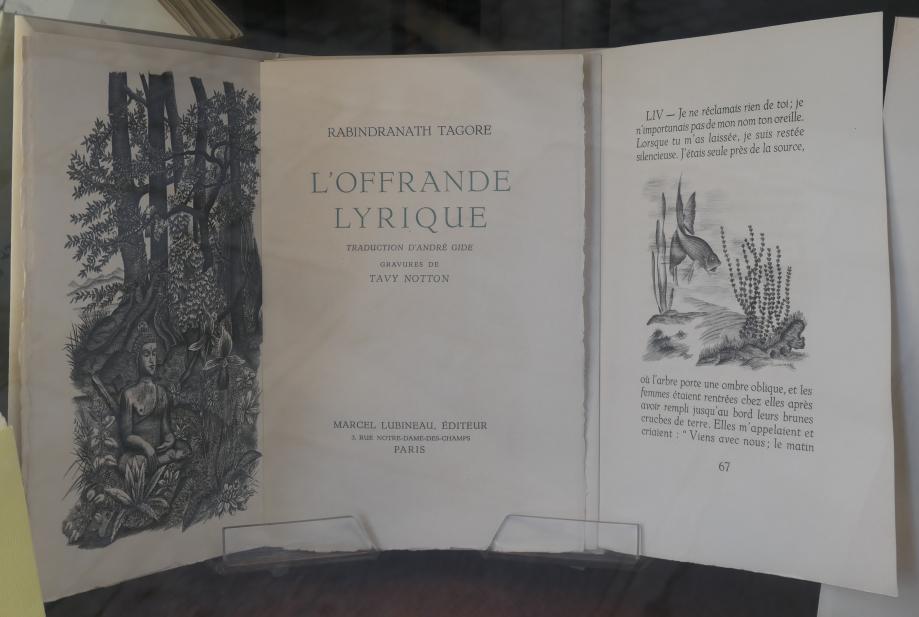 Tagore - L'Offrande lyrique.JPG