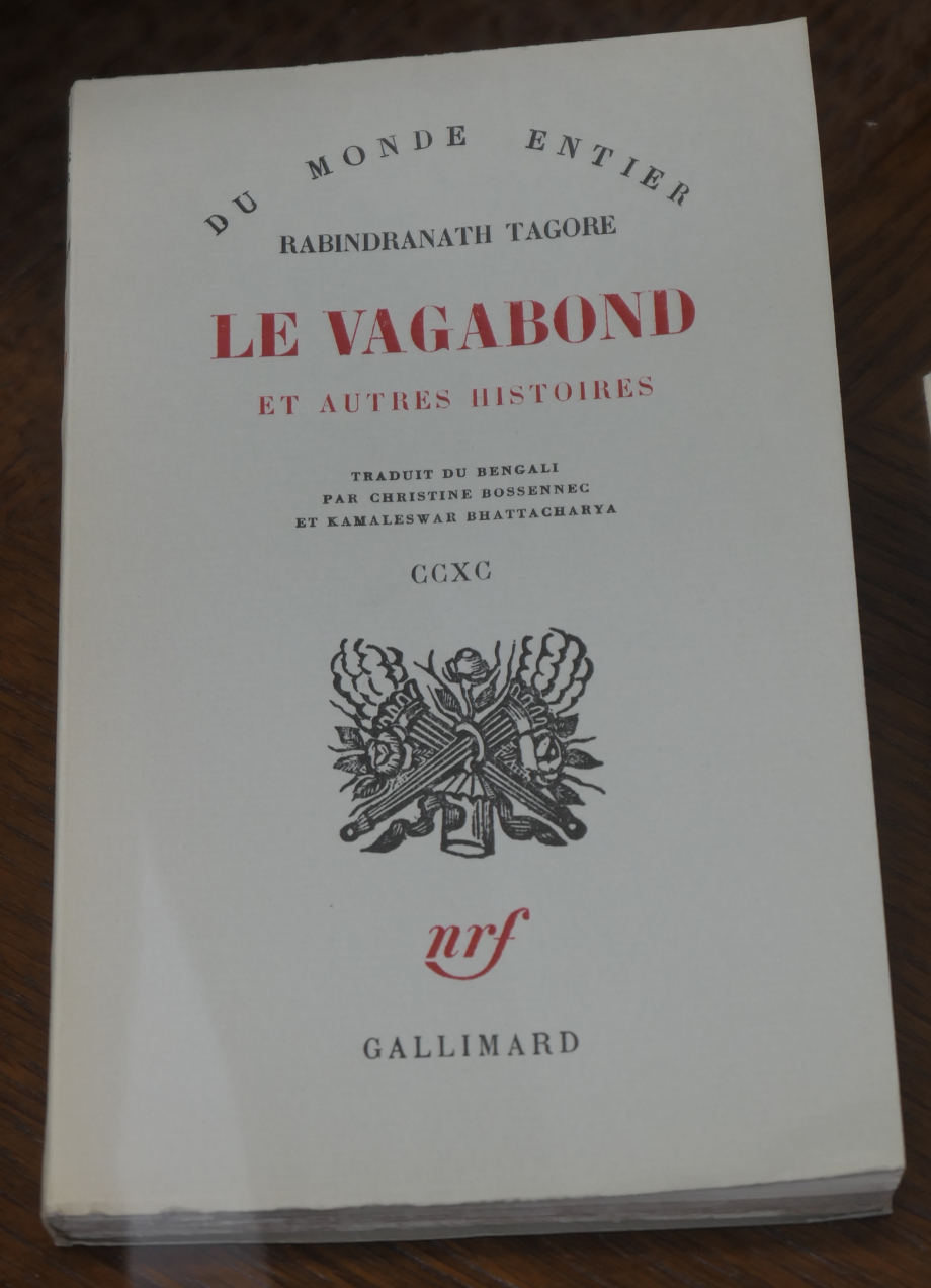 Tagore - Le Vagabond.JPG