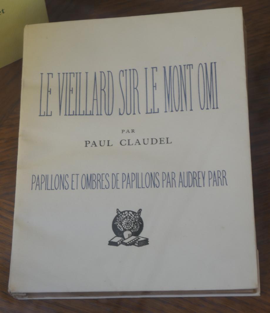 Claudel - Le Vieillard....JPG