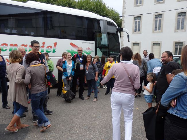 Le départ de Foix