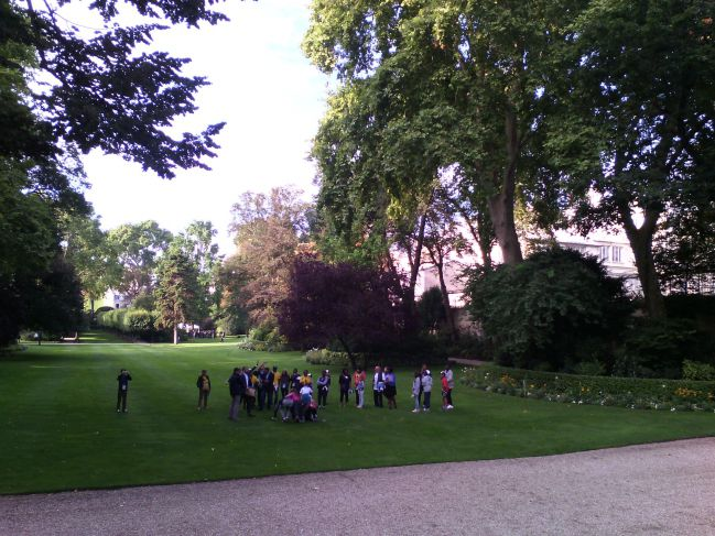 Les jardins de Matignon
