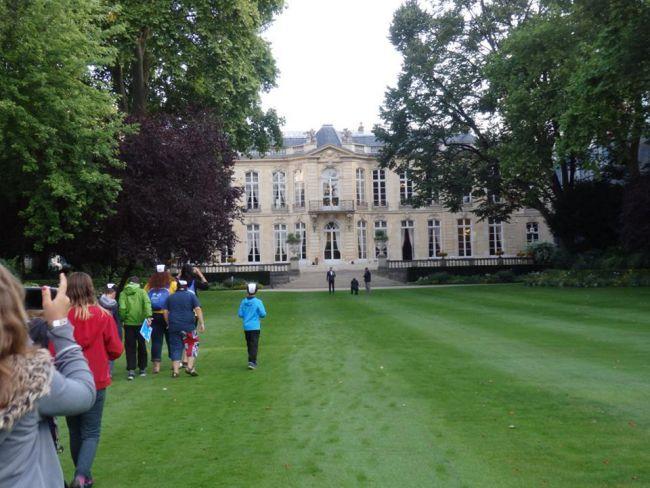 Les jardins de l'Hôtel Matignon