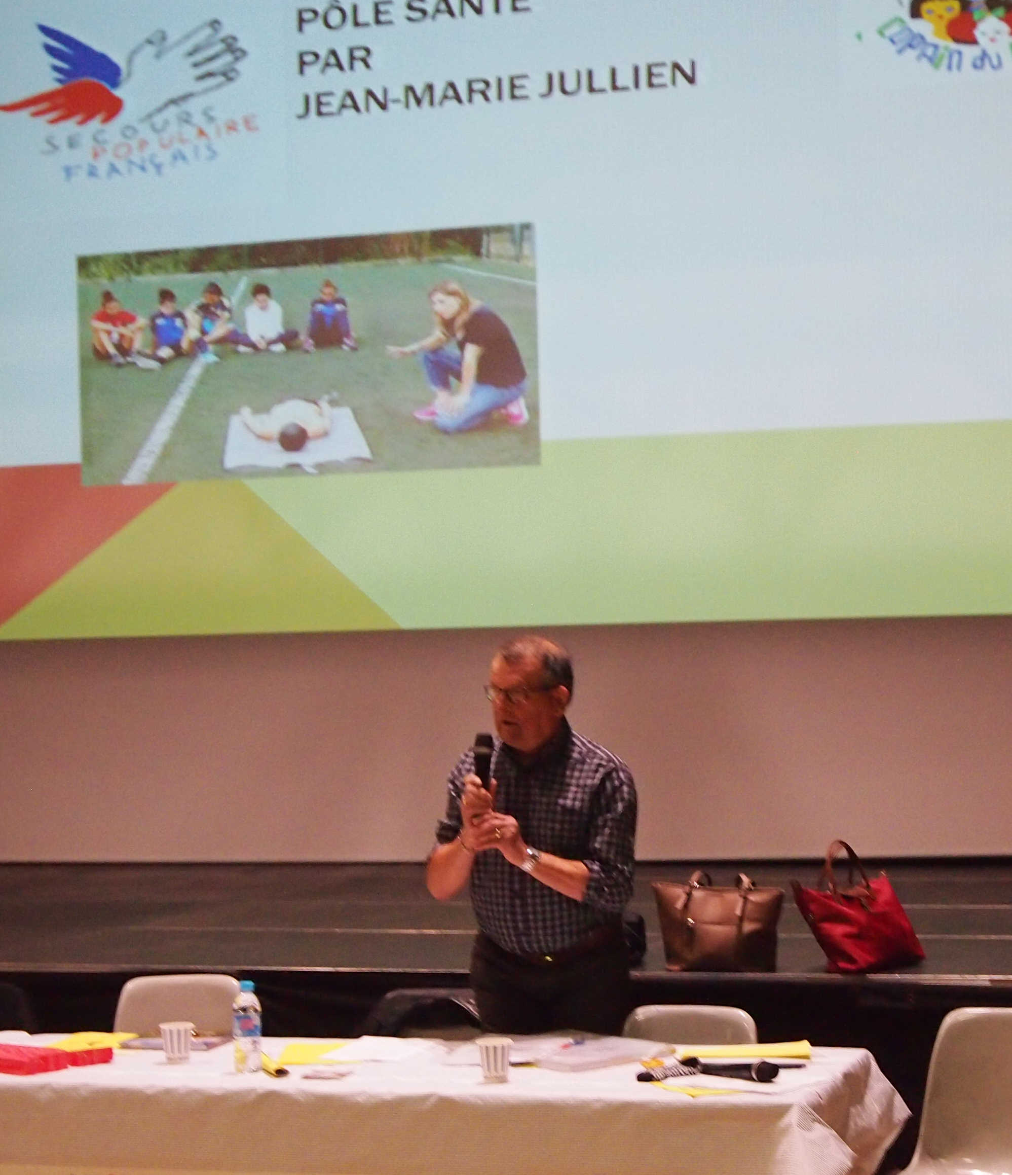 JM Jullien explique son rôlr dans le pole santé