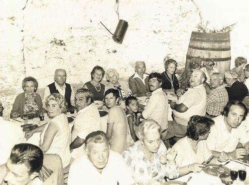 Repas des Anciens Combattants en 1980