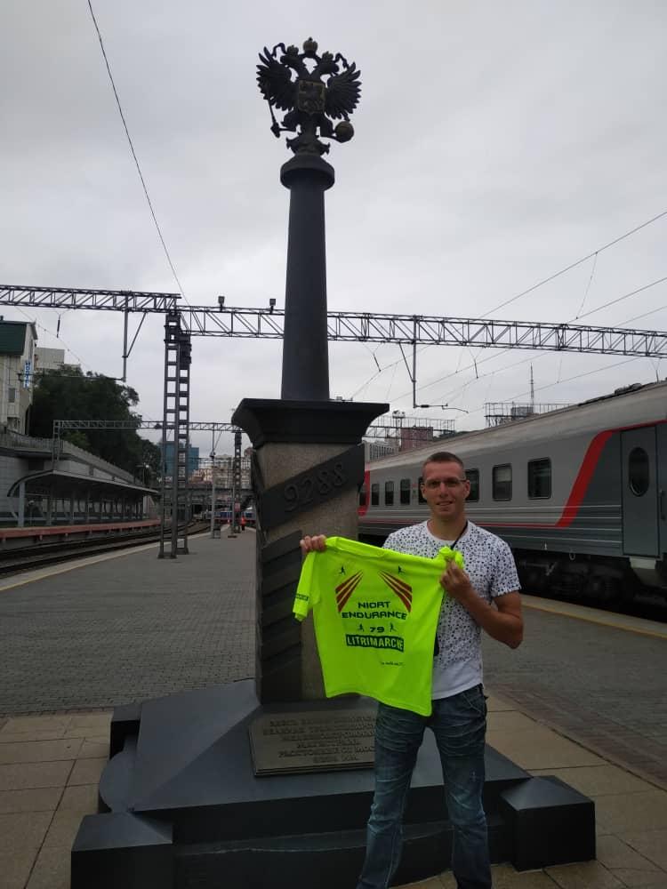 Même en vacances, Tomas n'hésites à montrer les couleurs (Russie Vladivostok)