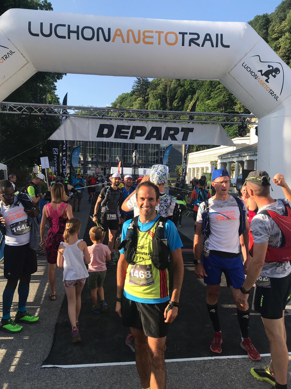 Belle course de Pierrot sur l'Aneto Trail de Luchon (6h53 45km pour 2500D+ 83e/450)