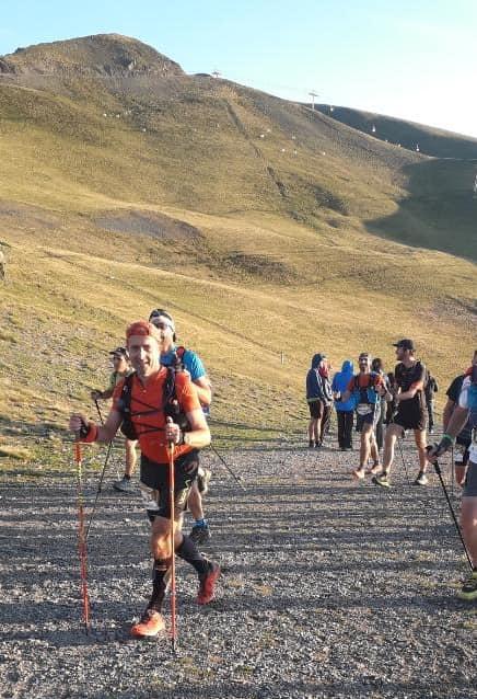 Laurent sur le Tour des Lacs (774e en 21h41)