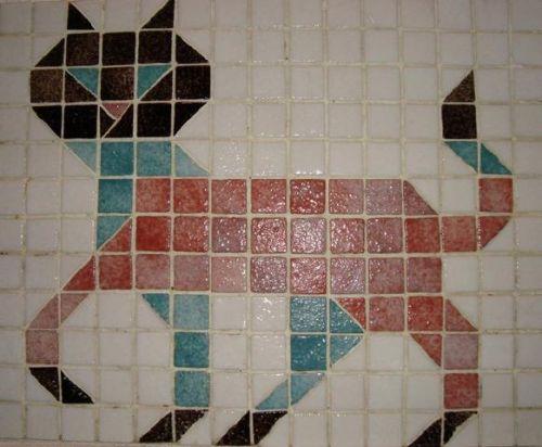 Chat (Mosaique pour enfants )