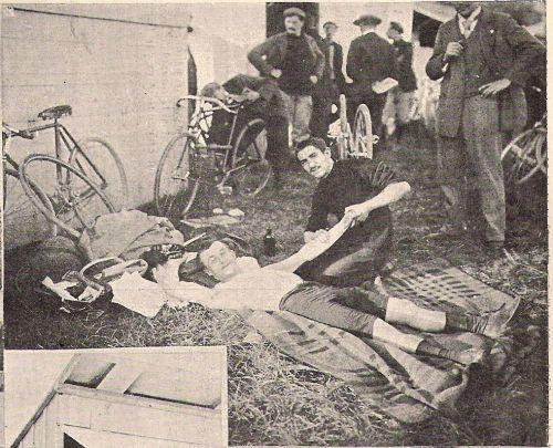 massage en 1898