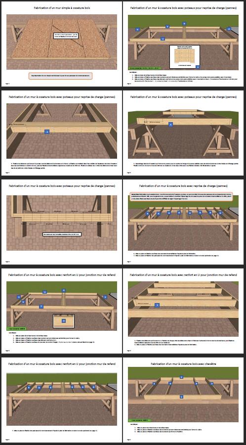 Extraits 3 ouvrage autoconstruction pool house à ossature bois