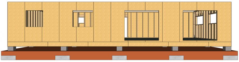 Dalle en sur plots béton guide pour autoconstruction à ossature bois