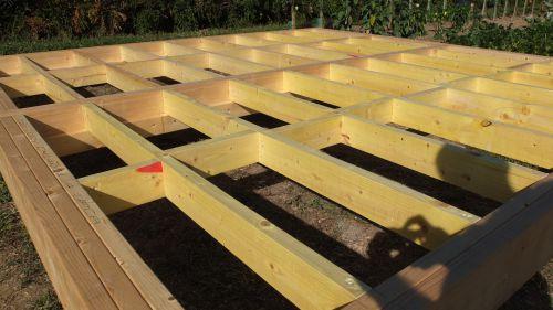 Autoconstruction abri de jardin ou Chalet en ossature bois ...