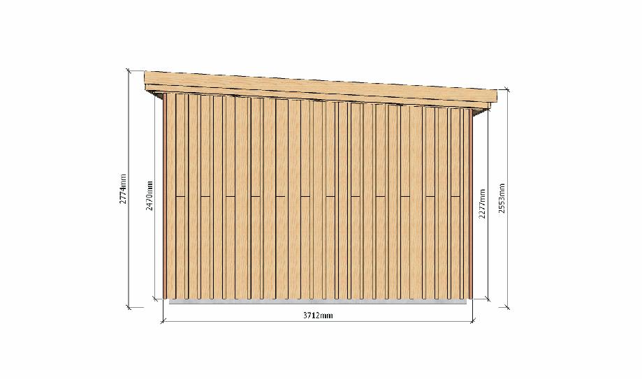 Plans ossature bois pour autoconstruction abri de jardin for Guide autoconstruction
