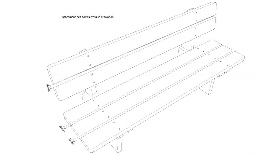 Plans Pour Fabrication Dun Banc En Bois Massif Autoconstruction